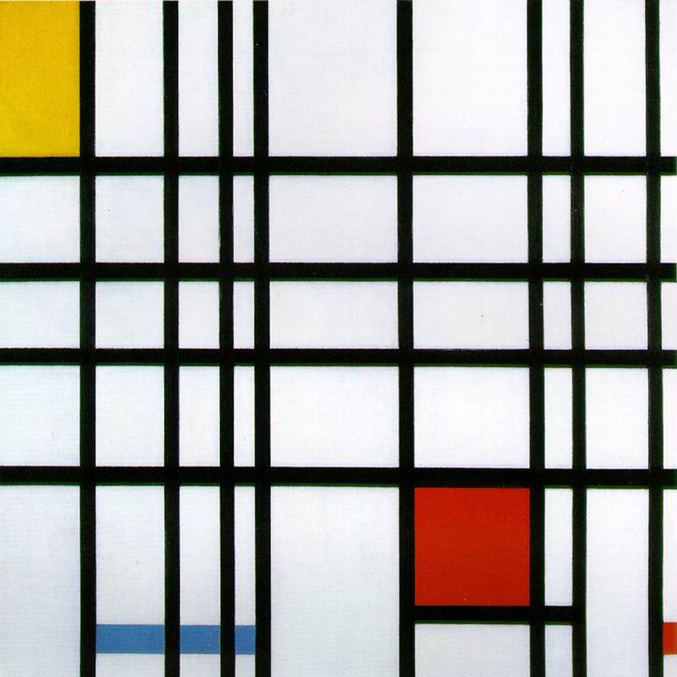 Graphic frame; Mondriaan